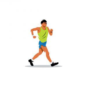 Fitness Walking Man